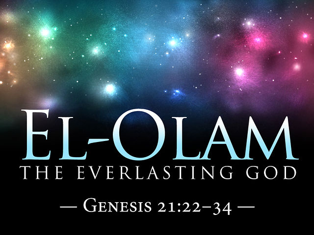 El Name: Helps For The Fervent Prayer Yahweh El Olam